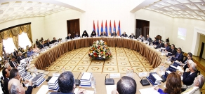First sitting of a state and international committee in charge of Armenian Genocide 100th anniversary commemorative events preparation