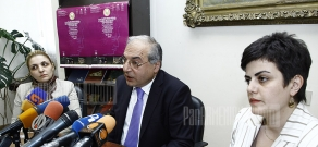 Press conference about Aram Khachatryan annual festival