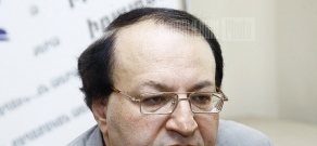 Press conference of the president of the Union of Political Scientists Hmayak Hovhannisyan