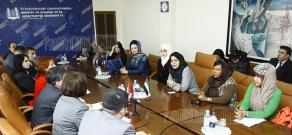 ՄԱԷ-ի գործարար կանանց հետ հանդիպում ՀՀ էկոնոմիկայի նախարարությունում