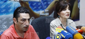 Press conference of the head of RA Culture Ministry's department of modern art Sona Harutyunyan and the chairman of