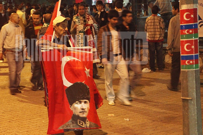 One day in Bursa. From Eyewitness' Story