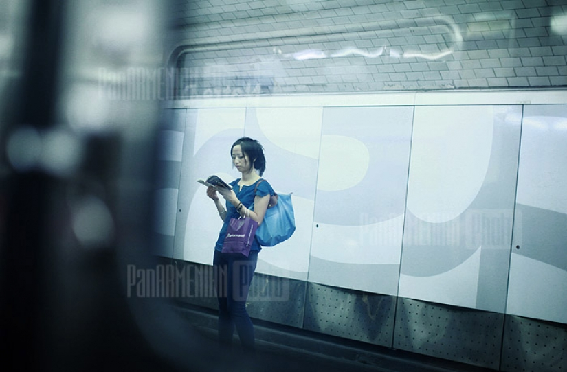 M384. Метро Парижа