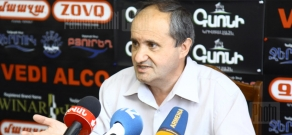 Press conference of Ashot Manucharyan, former national security advisor to the first President of Armenia