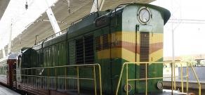 Yerevan-Batumi-Yerevan passenger train departs from Yerevan