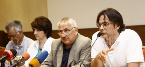 Conference about corruption regarding Lake Sevan environmental issues