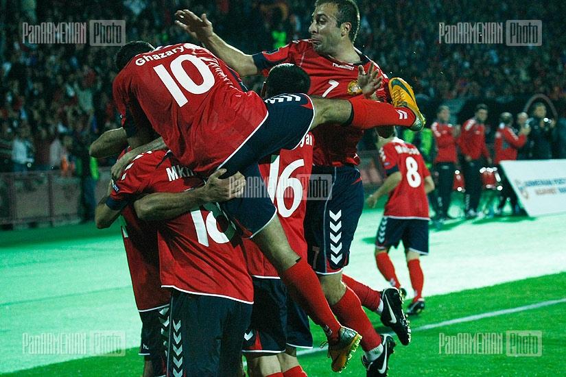 Armenia-Macedonia Euro 2012 Qualifying Match