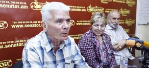 Press conference of the chairman of National Association of Consumers Melita Hakobyan, head of Marketing Monitoring Department Frunze Haytyan and the expert of the association Levon Achemyan