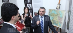 CEO of Vivacell-MTS Raplh Yirikyan donates books and materials realted to Adana massacres to Armenian Genocide Museum Institute