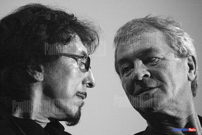 Tony Iommi and Ian Gillan