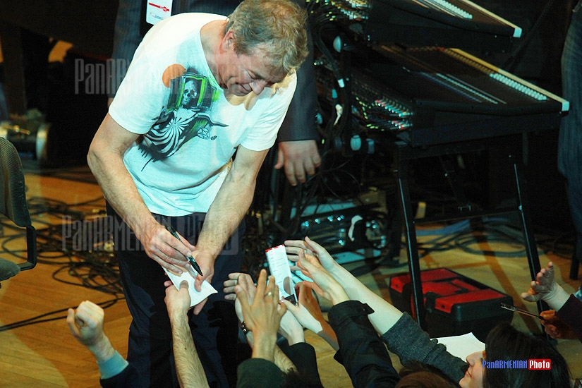Ian Gillan, Deep Purple's vocalist