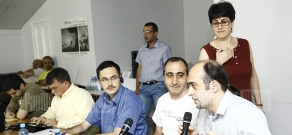 Caucasus Institute organizes a seminar about mass media with participation of Turkish, American and Armenian journalists