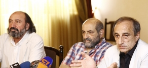 First press conference of Armenian National Film Academy