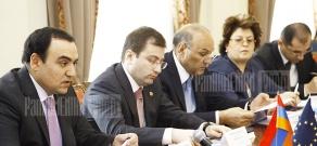 EU Advisory Board 6th session headed by NSC Secretary Arthur Baghdasaryan and the head of delegation of the European Commission in Armenia, ambassador Raul de Luzenberger