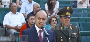 RA Minister of Defense Seyran Ohanyan attends the official graduation ceremony of Yerevan State Medical University Military Medicine faculty students