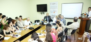 Press conference of International Confederation for Plastic, Reconstructive and Aesthetic Surgery (IPRAS) and Armenian Association of Plastic Reconstructive and Aesthetic Surgeons (AAPRAS) representatives
