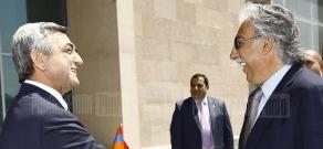 RA President Serzh Sargsyan visits TUMO Center for Creative Technologies