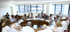 RA Public Council's subcommittee on industrial issues holds a session