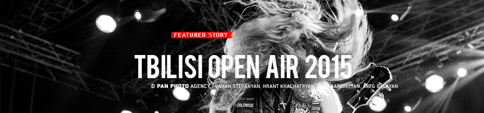 Annual music festival Tbilisi Open Air 2015
