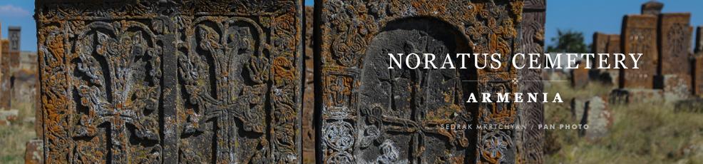 Armenian Heritage: Noratus cemetery (Gegharkunik province)
