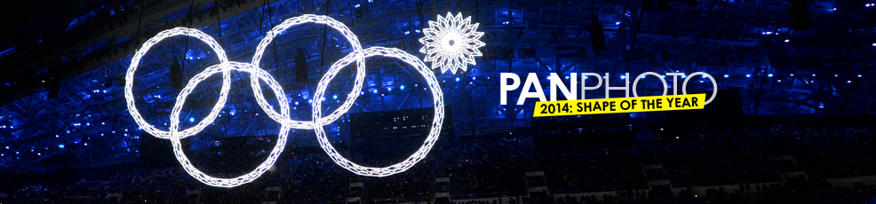 The Fifth Olympic ring failed to open during the Sochi XXII Olympic Winter Games. Sochi, Russia