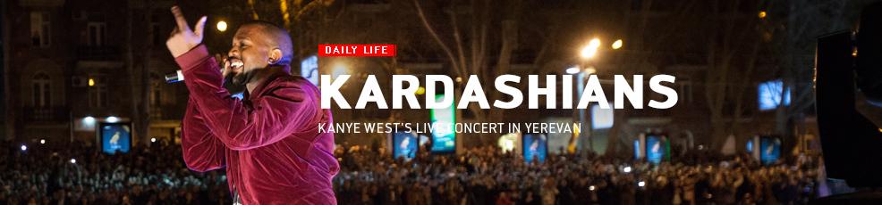 Kanye West's live concert in Yerevan
