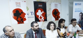 Press conference about cooperation of embassies and international structures within the frameworks 8-th Golden Apricot International Festival