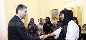 Վարչապետն ընդունել է ԱՄԷ գործարար կանանց