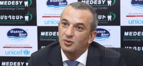 Press conference of RA Deputy Minister of Sport and Youth Affairs Arsen Karamyan