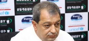 Press conference of Dilijan mayor Armen Santrosyan