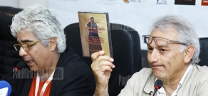 Press conference of directors Hagob Goudsouzian and Serge Avedikian within the frameworks of Golden Apricot 8th Film Festival