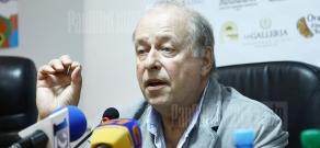 Press conference of Polish director Wojciech Marczewski within the frameworks of Golden Apricot 8th Film Festival