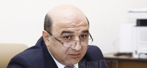 Press conference of Ministry of Energy and Natural Resources Armen Movsisyan
