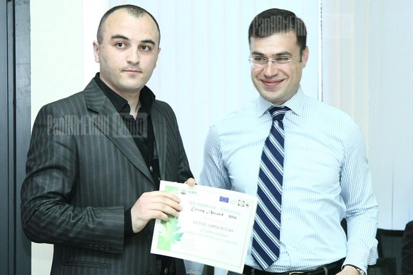 World Bank Yerevan Office announces essay competition winners