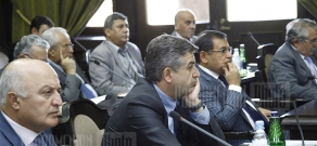 RA Government holds a session
