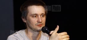 Master class of director Pavel Kostomarov within the frameworks of Golden Apricot 8th Film Festival