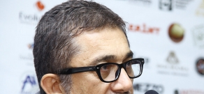 Press conference of director Nuri Bilge Ceylan within the frameworks of Golden Apricot 8th Film Festival