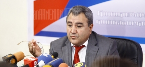 Press conference of pan-Armenian games world committee chairman Ishkhan Zakaryan