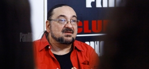 Press conference of French-Armenian actor and director Jirayr Papazian