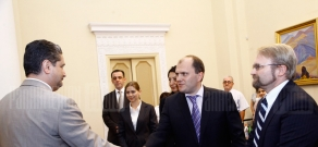 The first session of Armenia's small and medium entrepreneurship development council takes place in Government