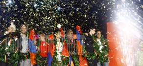 Concert dedicated to Armenian chess team victory in the World Cup takes place at Liberty Square of Yerevan