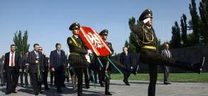 President of Poland Bronisław Komorowski visits Armenian Genocide Memorial