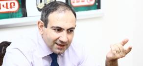 Press conference of Haykakan Zhamanak daily's chief editor Nikol Pashinyan