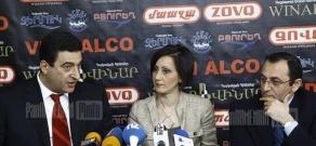 Վարդան Այվազյանի և Արծվիկ Մինասյանի մամլո ասուլիսը