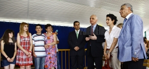 Children with autism attend summer camp in Aparan with the support of Orange Armenia