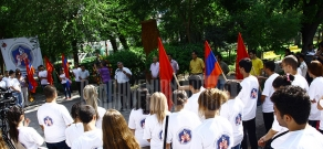 ARF Dashnaktsutuyn's youth and student unions participate in opening of Banakum camp