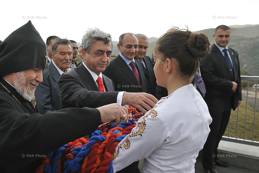 Սերժ Սարգսյան, Գարեգին Բ