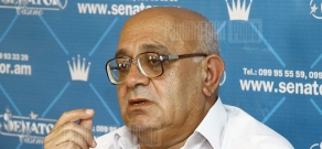 Press conference of political scientist Levon Shirinyan