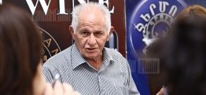 Press conference of former RA deputy Minister of Defence Vahan Shirkhanyan