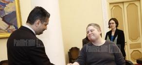 Տիգրան Սարգսյան հանդիպումը Թինա Քայդանաուի հետ
